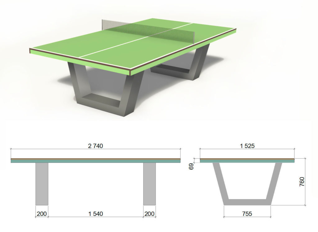 Теннисный стол Outdoor III